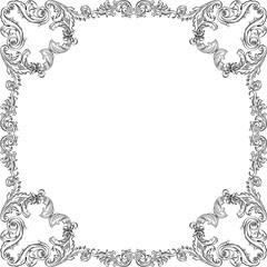 Vintage luxury orient frame