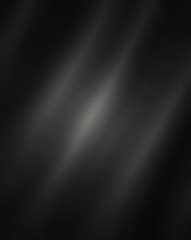black background, spotlight on center gray white color streaks and folds in cloth texture design