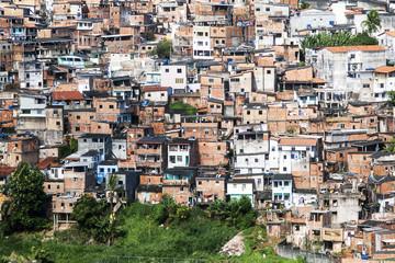 Favela di Salvador Bahia, Brasile