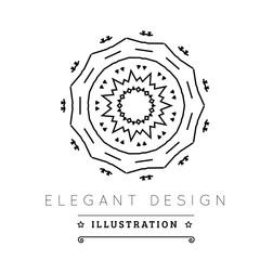 Logo template.