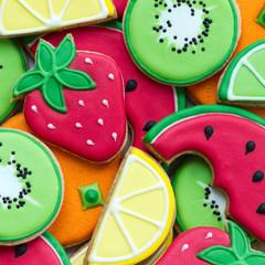 Wall Mural - Summer cookies
