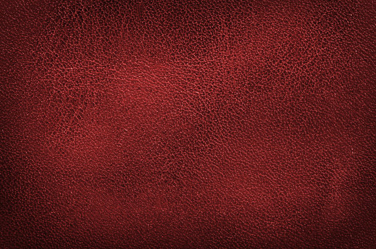 high resolution red leather texture