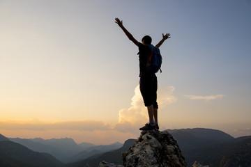 başarı sevinci ve gururu & hedef başarısı