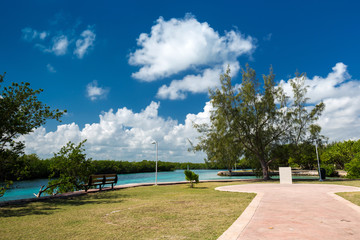 Caribbean public park