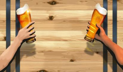 Barrel background(Cheers)