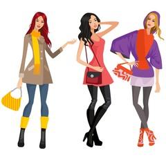 women fall fashion