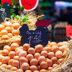 Eggs seller