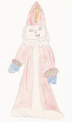 Saint Nicholas original child picture