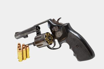 old beautiful revolver