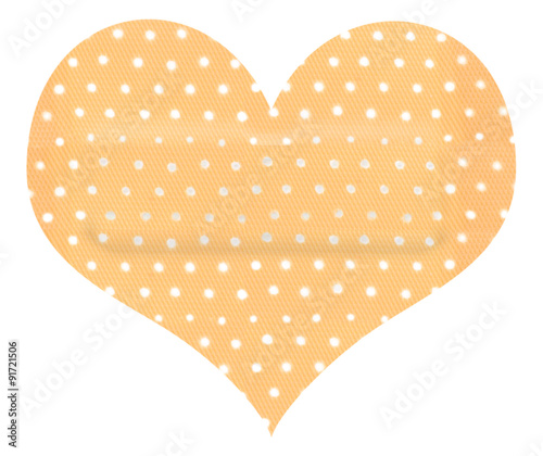Pansement Sparadrap Forme Coeur