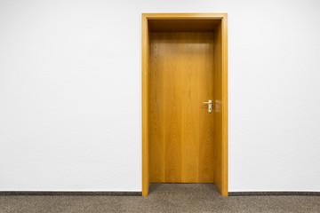 Holztür Eingang