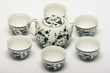 Chinese porcelain set