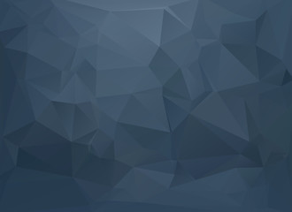 low poly background water blue
