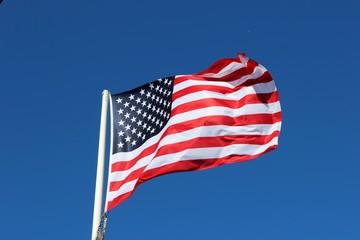 Couleurs des U.S.A. ' dans le vent '