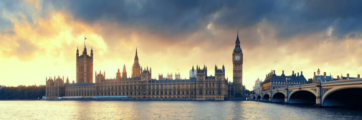 Foto auf Acrylglas London House of Parliament