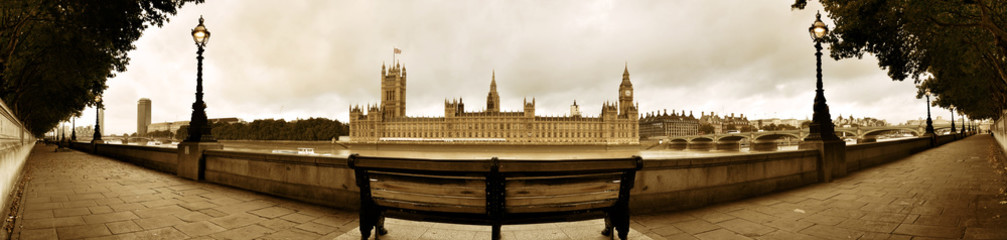 Wall Mural - Westminster panorama