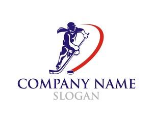Woman Hockey logo
