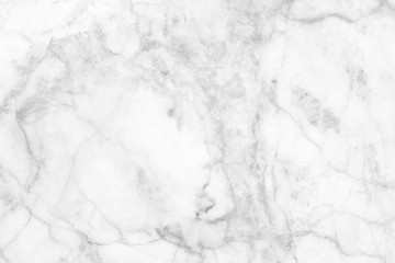 White (gray) marble patterned (natural patterns) texture for background and design.