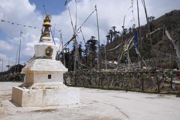 Yotongla pass at 3400 m