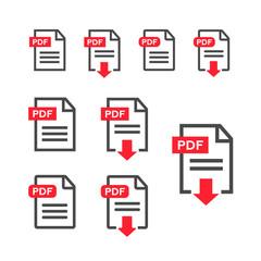 PDF file, web icon. design