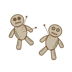 Halloween voodoo doll