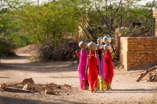 Water Carriers, Rajasthan