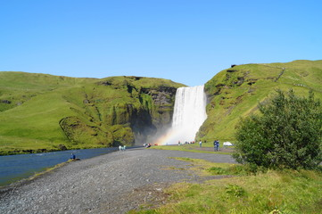 Skogarfoss, waterfall in Iceland