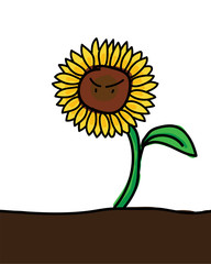 Seriously sunflower