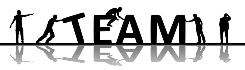 Menschen Team