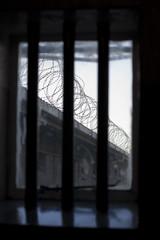 Prison Window View