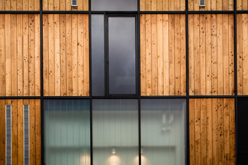 Habitation bois maison Fotobehang