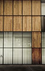 facade bois immeuble écologique énergie environnement construc