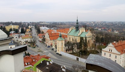 Sandomierz panorama miasta