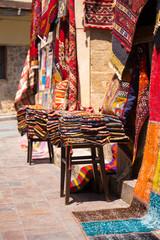 Historische Altstadt Side in Türkei