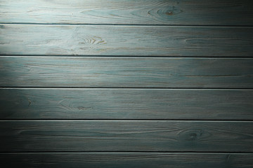 Old blue wooden background, close up