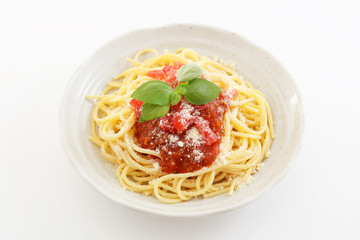 おいしそうなスパゲティ