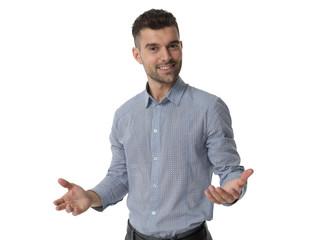 Businessman isolated portrait