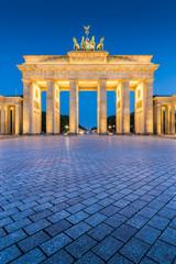 Poster Berlin Brandenburg Gate at dawn, Berlin, Germany