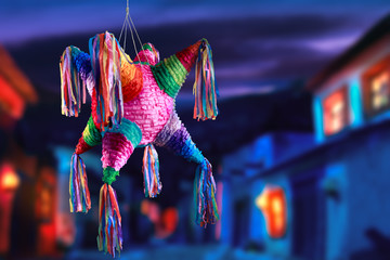 mexican pinata used in posadas and birthdays
