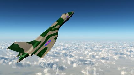 British strategic bomber of the cold war