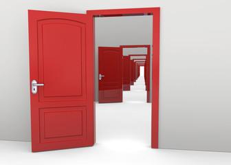 Open Doors - 3D