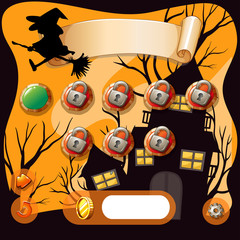 Screensaver of halloween theme game