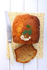 banana cake, bread