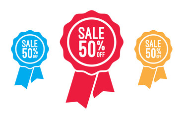 Sale 50% Off Ribbons