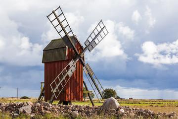 Swedish Traditional Windmill
