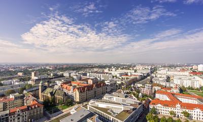 Fototapeta Sicht über Magdeburg