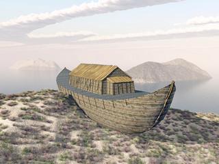 Arche Noah auf dem Berg Ararat