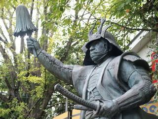三光神社 真田幸村の像