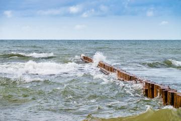 Fototapeta Morze Bałtyckie - Łeba obraz
