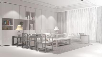 Raumplanung für Wohnzimmer